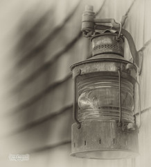 Old Lamp - Hello darkness, my old friend (janusz l) Tags: county old bw lamp sepia geotagged washington ship antique valley hdr phototrip tulipfestival laconner 218 janusz leszczynski hellodarknessmyoldfriend scagit anawesomeshot silverefex geo:lat=48392531 geo:lon=122495863