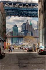 Lower Manhattan (ms2thdr) Tags: nyc newyorkcity ny skyline canon canon5d hdr lowermanhattan photomatix brooklynbridgestatepark canon5dmarkii