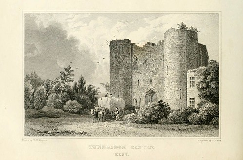019- Castillo de Tunbridge en Kent-1835