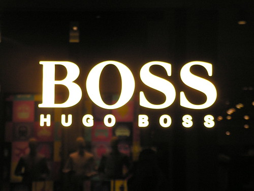 Hugo Boss [Brands @ Westfield shoppingmall London]
