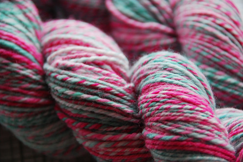 Jen's Candy Coloured Yarns...