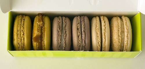 paulette macarons in box