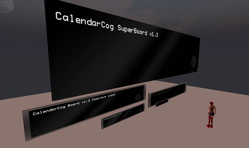 MechanizedLife CalendarCogs Board and new SuperBoard