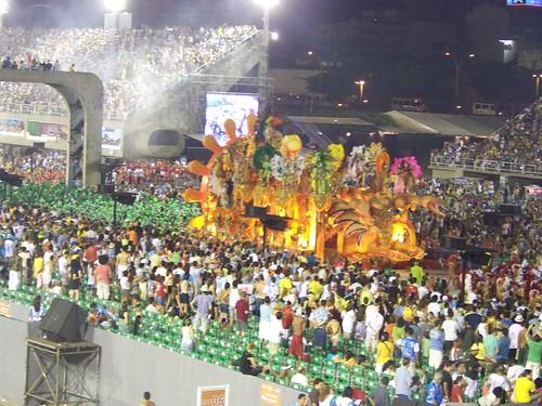 Carnaval 2009, Sambodrome. Rio de Janeiro, Brazil