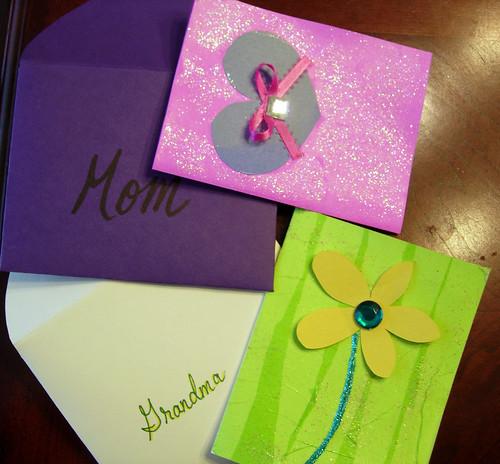 Grade School Style Cards