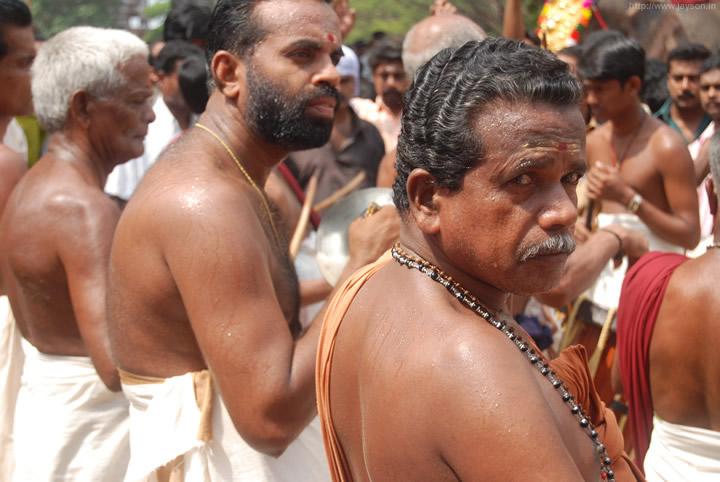 thrissur pooram - Melam at Vadakkunnathan