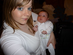 With me, Mummy (Princess Blu) Tags: pink baby white cute public girl this see pretty all child with photos sweet girly birth pregnancy adorable icon x tagged newborn half pakistani click abbas videos aleena
