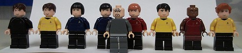 Star Trek custom minifigs