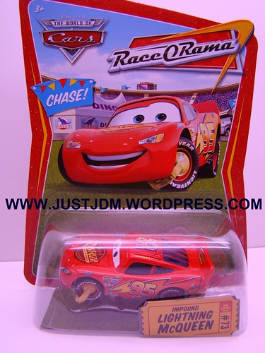 Disney CARS Impound McQueen No