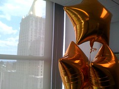 Thanks for the gold stars (Jeffrey) Tags: friends digital balloons studio stars design code friendship sweet awesome events balloon content webdesign gift agency ia developers online teh kindness thumbsup interactive strategic publishing html ux clever feelbetter partners irl interaction designers internets webdevelopment userexperience anonymity webcontent happycog coders goldstars webdevelopers webpublishing hcny contentstrategy publshers webevents