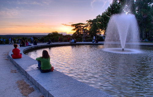 Templo de Debod Sunset 02