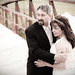 Bride and Groom Bill and Monica On The Bridge 2 - Portrait South Florida Wedding Photographer