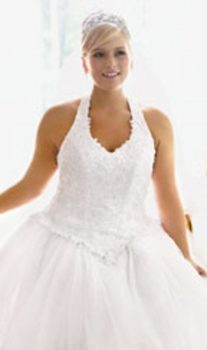 Simple Plus Size Wedding Dresses