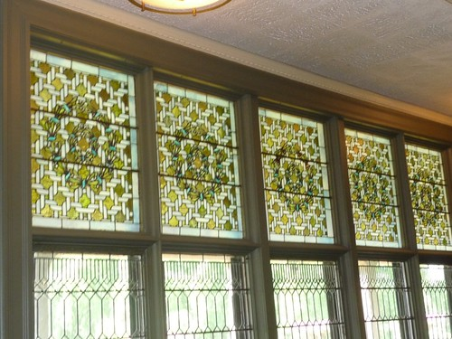 Tiffany Parlor Windows