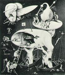 Escher_-_Hell__1935 (sertacsekmen) Tags: escher