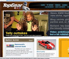 I'm on TopGear!! wow!