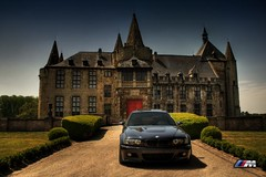 BMW E46 M3 (nils_vb88) Tags: castle car canon photoshoot bmw beamer m3 sportscar beemer bimmer e46 eos400d worldcars