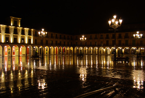 Plaza Mayor de León.