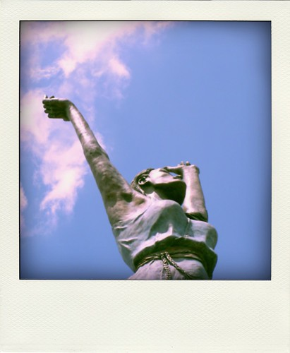 Poladroid River Goddess