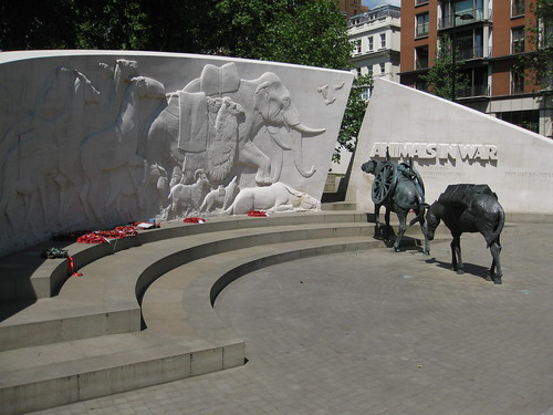 Animals in War - the UK's most pointless war memorial