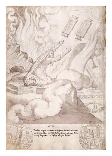 009- Moises recibiendo las tablas de la Ley-De Aetatibus Mundi Imagines