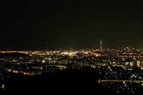 08.內湖南港一帶的夜景