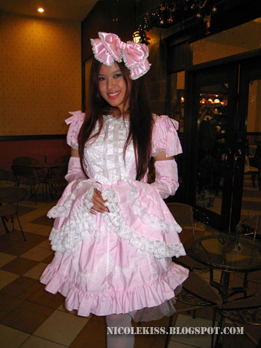 profile pic of pink lolita girl