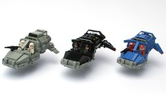 Landspeeder Collection (Legoloverman) Tags: lego landspeeder