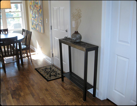 Three-cycled Hall Console Table