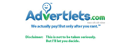 Advetlets finally Pays!