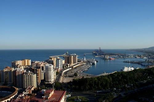 La ciudad de Málaga