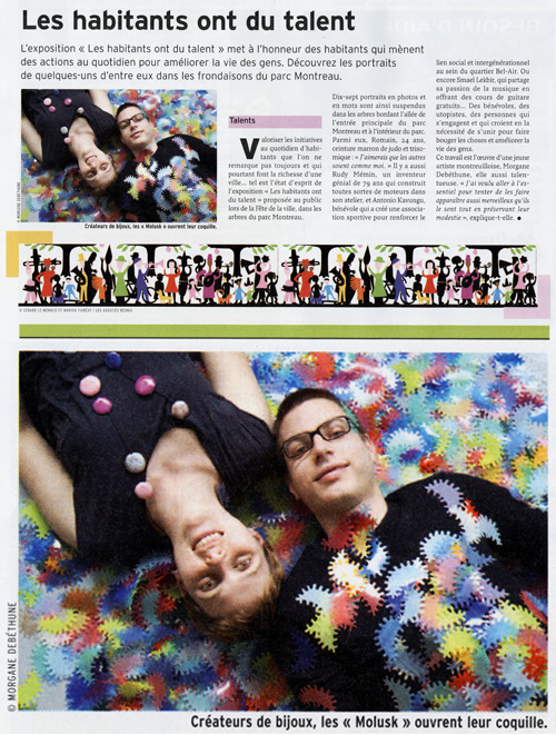 Article Molusk / Tous Montreuil n°15