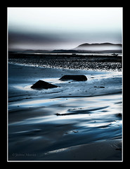 Mare bleue (Jerome Mercier) Tags: leica longexposure blue france beach water fog stone landscape 22 eau britain marin bretagne plage brume bleue roche mare leicadigilux3 colorphotoaward trelevern bookjm