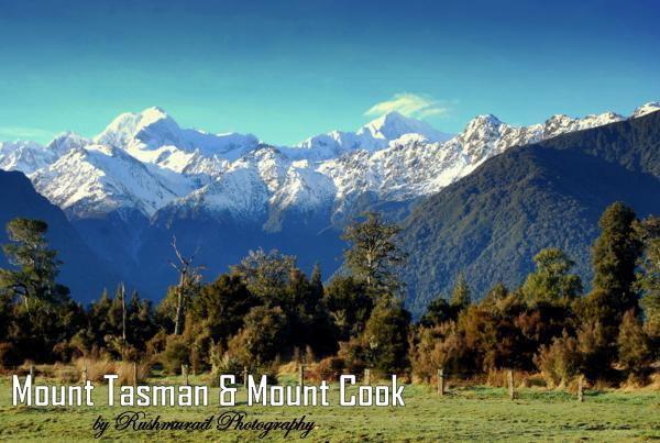 Mount Cook & Mount Tasman