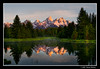 First Light at Schwabacher's Landing (James Neeley) Tags: mountains sunrise searchthebest grandtetons tetons hdr grandtetonnationalpark gtnp schwabacherslanding 5xp jamesneeley