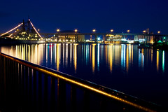 Reflection (sandrajkammerer) Tags: city reflection water colors night docks buildings lights harbor long exposure ship glow tripod wideangle walkway remote buffalony 1001nights soe 1022mm skyway mtr eriecounty blueribbonwinner otw eriebasinmarina coth superphotographer bej usslittlerock fineartphotos buffalonavalpark diamondclassphotographer flickrdiamond theunforgettablepictures canon40d theperfectphotographer goldstaraward natureselegantshots rubyphotographer artofimages internationalflickrawards bestcapturesaoi flickrunitedaward