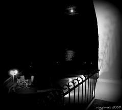 notte! (viaggiaresiii) Tags: sea sky bw nuvole mare luna bn ombre cielo luci riflessi atmosfera nero notte sicilia lipari magia riflesso sogno silenzio magica intimo intimit