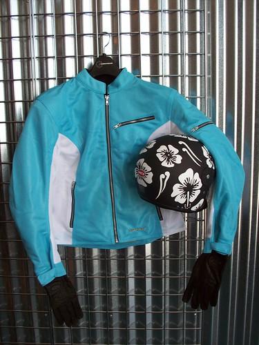 Helmets, Gloves, Jackets