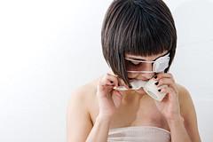 IMG_7931 (We Should Be Strangers) Tags: eyepatch bandages bruises medicalart