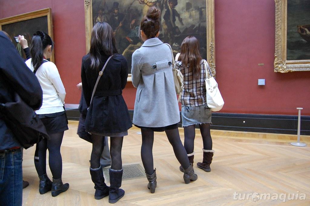 Museu do Louvre com estilo