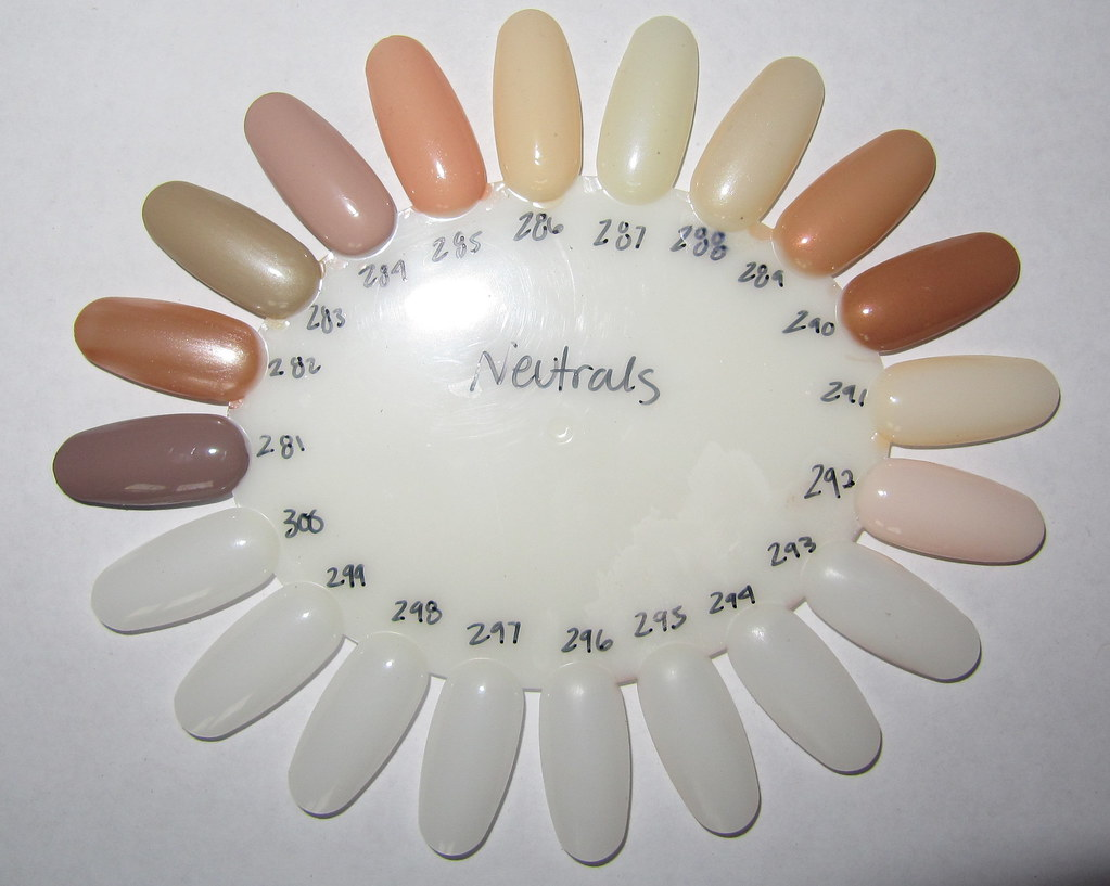 Neutral Nail Polish (flash)