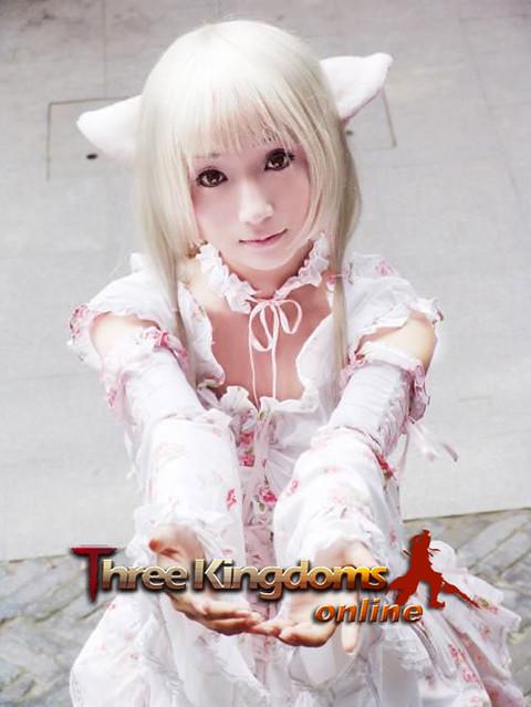Three Kingdoms Online-girl001 (4) by zhangallan