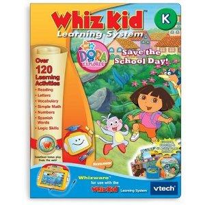 V Tech - Whiz Kid CD- Dora the Explorer