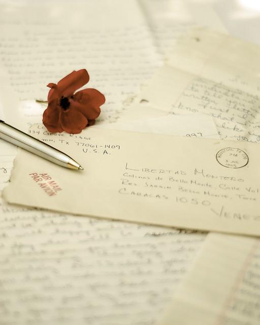Letters ~ Cartas