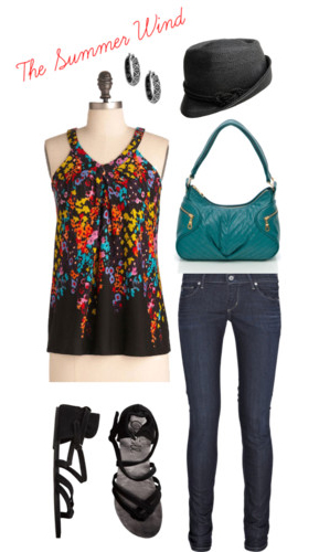 Polyvore: The Summer Wind