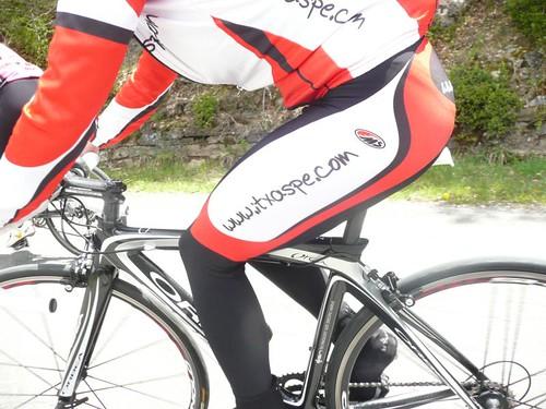 Quebrantahuesos 2010. Bicicleta Solidaria y Parrilla Orbea Orca
