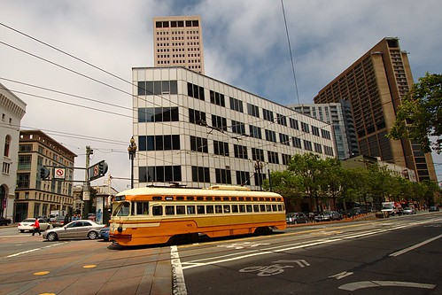 Vintage street cars of SFO