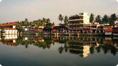 reflection (Robin George) Tags: reflection kerala trivandrum kulam thiruvananthapuram padmanabhaswamitemple robingeorge padmatheertham