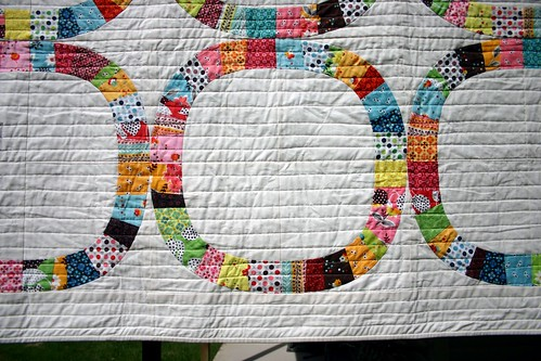 Single Girl Quilt - hanging b