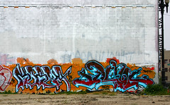 Korea, Silence (funkandjazz) Tags: sanfrancisco california graffiti korea silence silencer kog bth